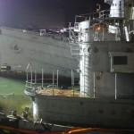 USS Quapaw Sinks